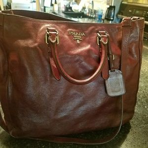 Beautiful Calf Skin Prada Bag!
